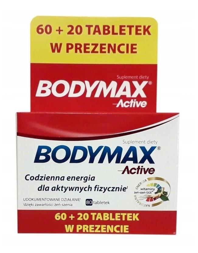 Bodymax Active 60+ 20 Tabletek