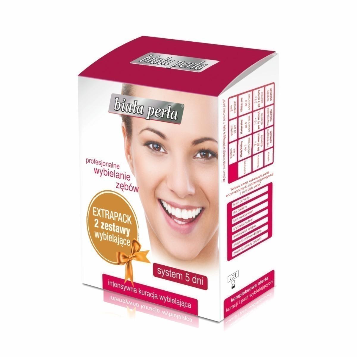 Biała Perła System 5 dni - Extrapack, 2 zestawy wybielające