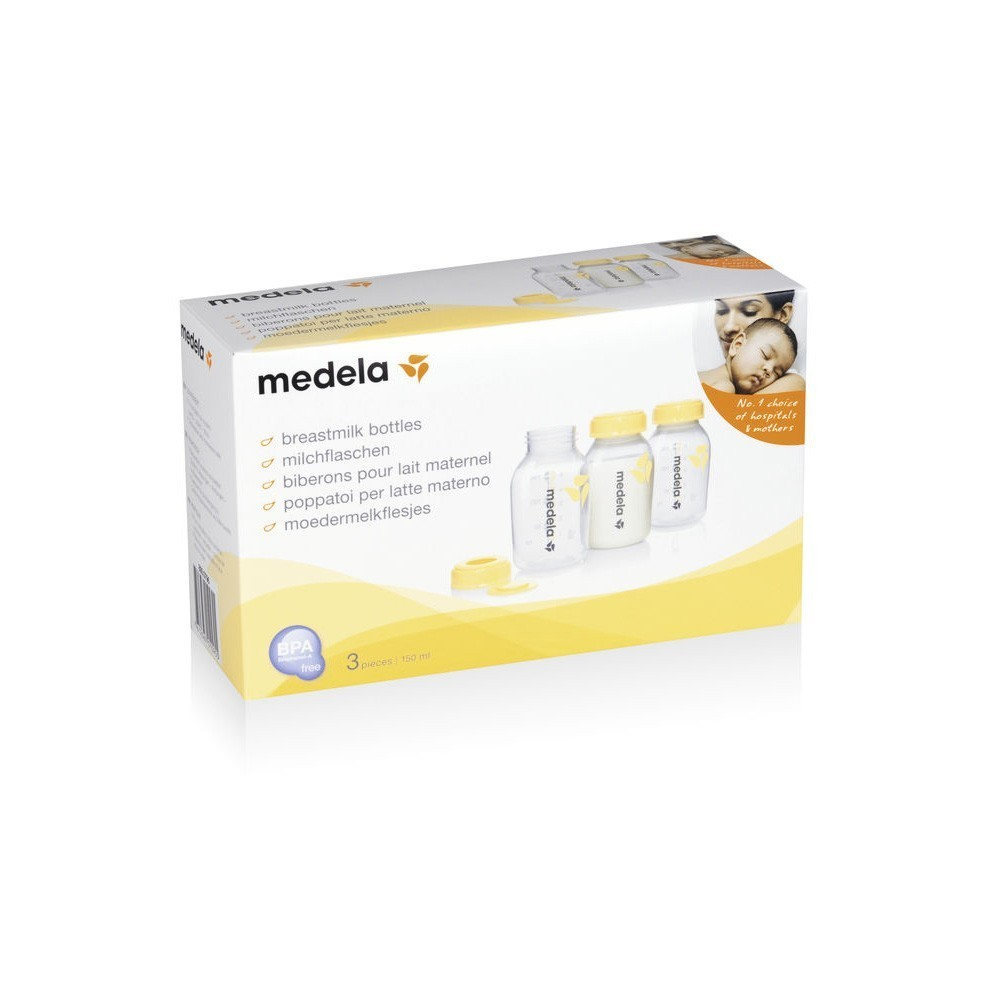Medela Box - 3 butelki 150 ml