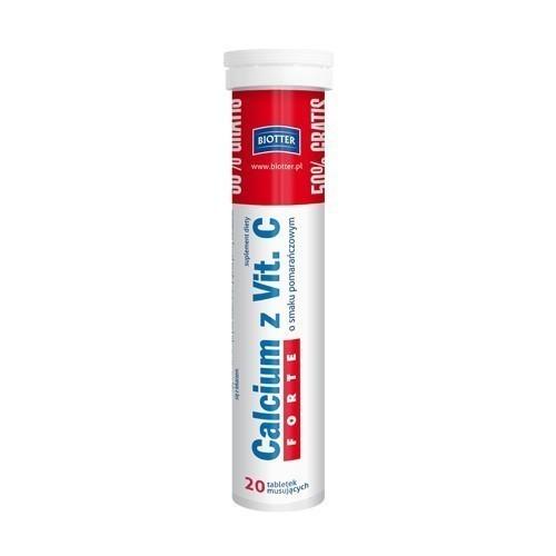 Calcium z Vit. C Forte BIOTTER