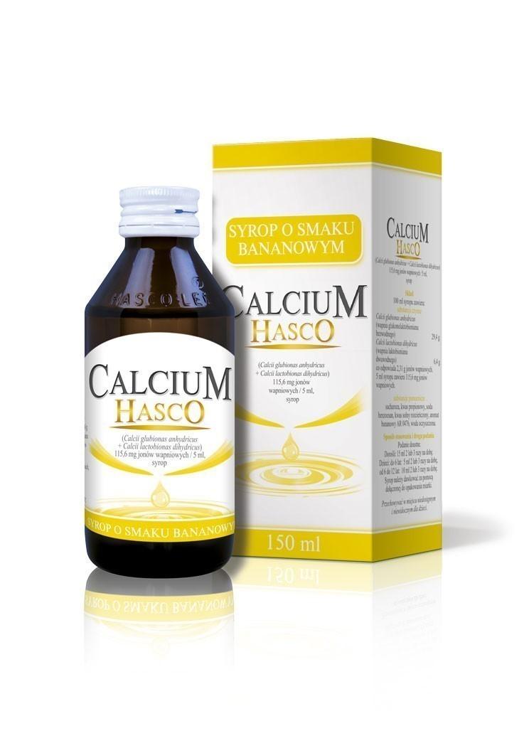 Calcium Hasco o smaku bananowym