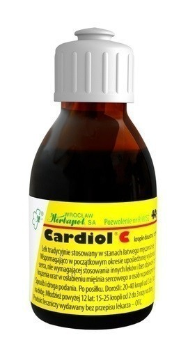 Cardiol C Krople Doustne 40 g