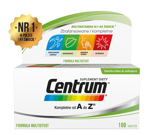 Centrum A-Z Multiefekt 100 Tabletek