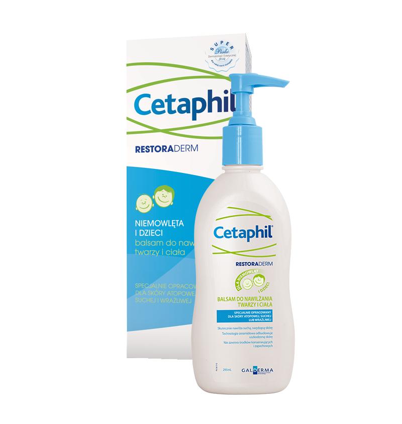 Cetaphil Restoraderm Balsam Nawilżający 295 ml