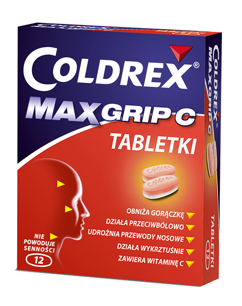 Coldrex MaxGrip C Tabletki