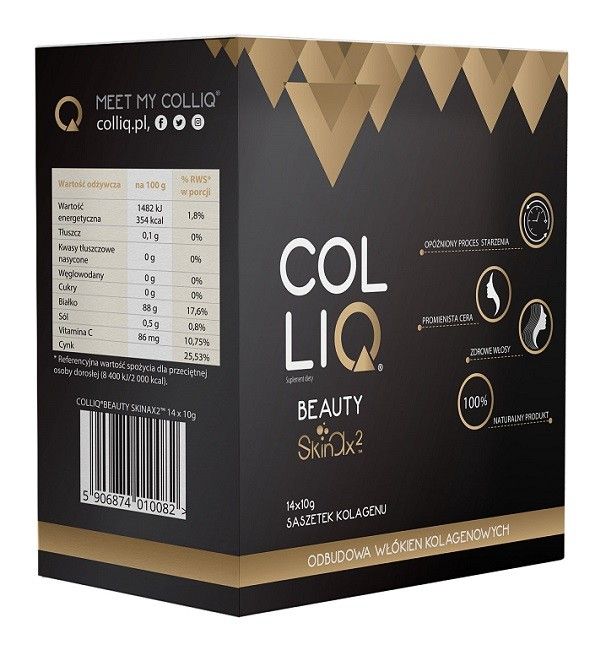 Colliq Beauty Skinax2 14 Saszetek