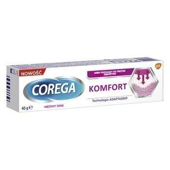 Corega Komfort Krem do protez 40 g