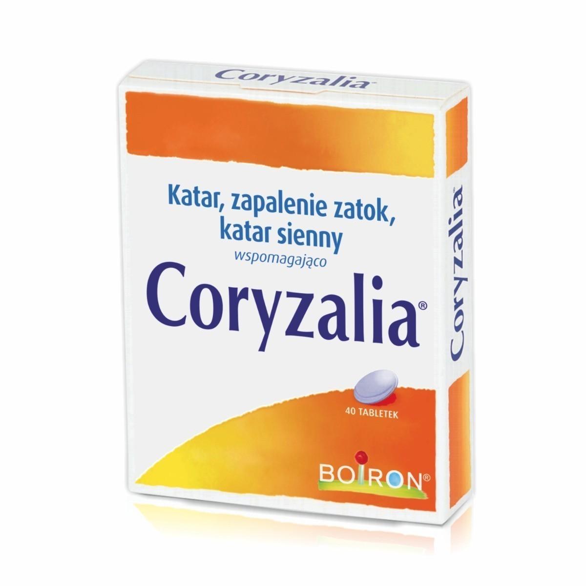 Coryzalia Boiron - tabletki