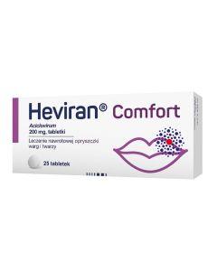 Heviran Comfort 25 Tabletek