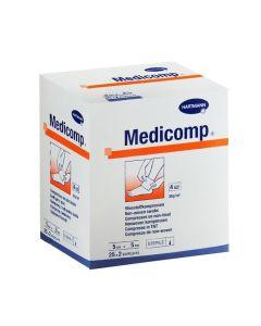 Medicomp Jałowe Kompresy 5cmx5cm 50 Sztuk