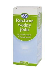 Płyn Lugola 40 ml