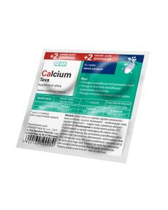 Calcium Teva 12+2 Tabletek musujących