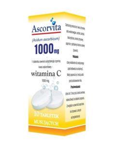 Ascorvita 1000 mg Tabletki Musujące