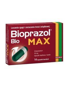 Bioprazol Bio Max 14 Kapsułek
