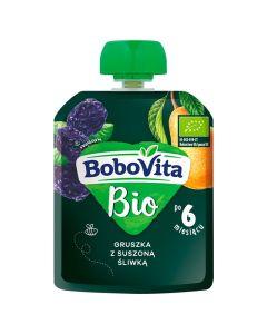 Bobovita Bio Gruszka, Śliwka