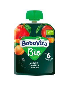 Bobovita Bio Jabłko, Morela, Mango