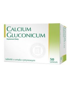 Calcium Gluconicum 50 Tabletek Hasco-Lek