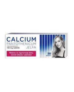 Calcium Pantothenicum Jelfa 50 Tabletek