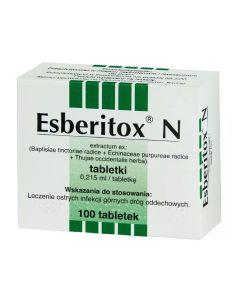 Esberitox N 100 Tabletek