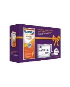 Geriavit Pharmaton 100 Tab.+ Magne B6 Max 50 Tabl ( Zestaw)