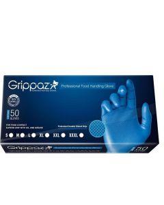 Grippaz Rękawice Nitrylowe Niebieskie 50 Sztuk