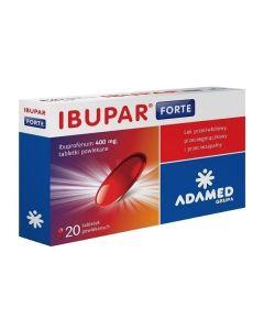 Ibupar Forte 400 mg 20 Tabletek