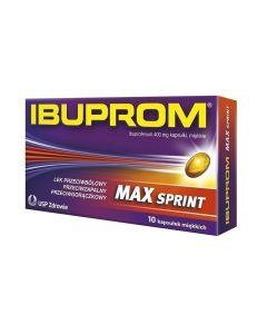 Ibuprom MAX Sprint Kapsułki