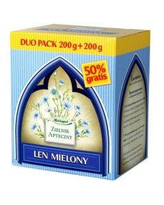 Len mielony DUO PACK 200+200