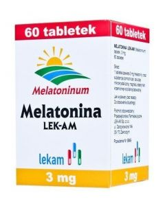 Melatonina LEK-AM 3 mg 60 Tabletek