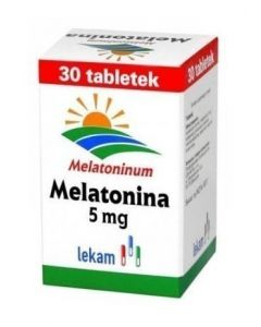 Melatonina LEK-AM 5 mg 30 Tabletek