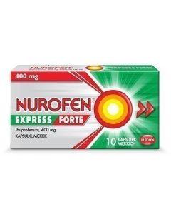 Nurofen Express Forte 400 mg Kapsułki