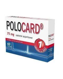 Polocard 75 mg 60 Tabletek