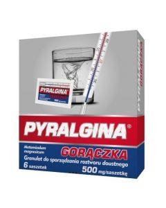 Pyralgina Gorączka 500 mg 6 Saszetek