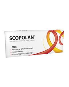 Scopolan 10 mg Tabletki