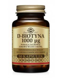 Solgar D-Biotyna 1000 µg