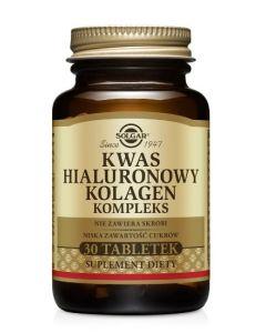 Solgar Kwas Hialuronowy Kolagen Kompleks