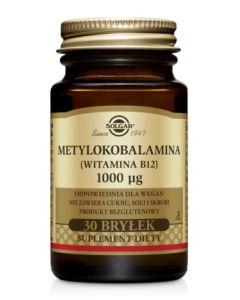 Solgar Metylokobalamina 1000 µg