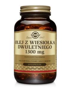 Solgar Olej z Wiesiołka Dwuletniego 1300 mg