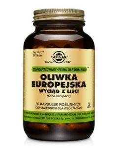Solgar Oliwka Europejska Wyciąg z Liści