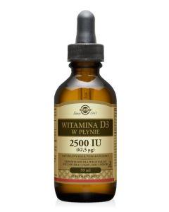 Solgar Witamina D3 62,5 µg