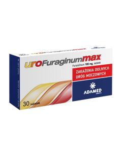 Urofuraginum Max 30 Tabletek