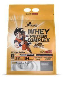 Olimp Whey Protein Complex biała czekolada z malinami Dragon Ball Z