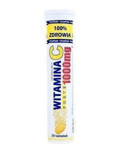 Witamina C 1000 mg Forte 20 Tabletek