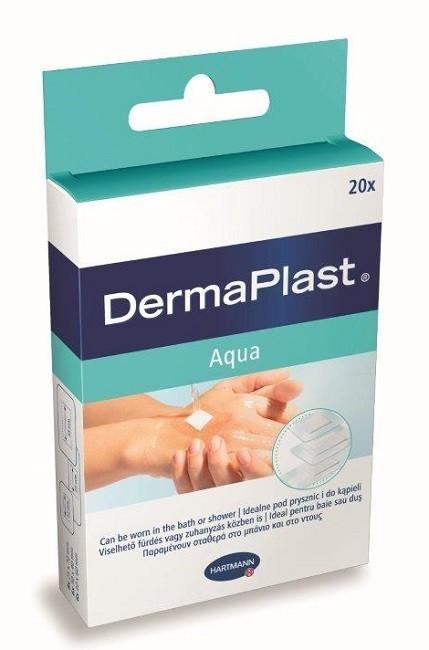 Dermaplast Aqua Wodoodporny Zestaw plastrów 20 szt.
