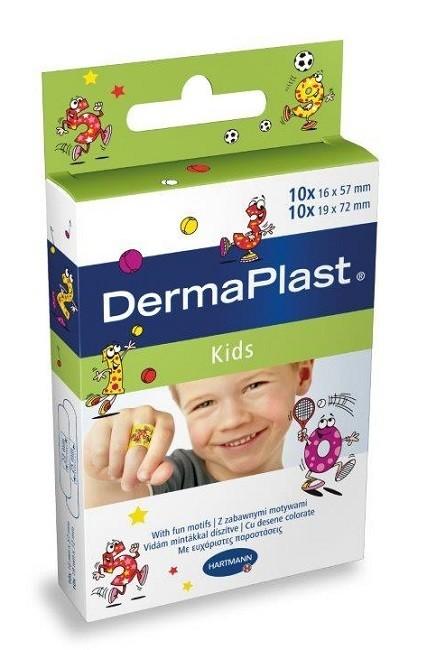 Dermaplast Kids Uniwersalne Plastry dla dzieci 20 szt.