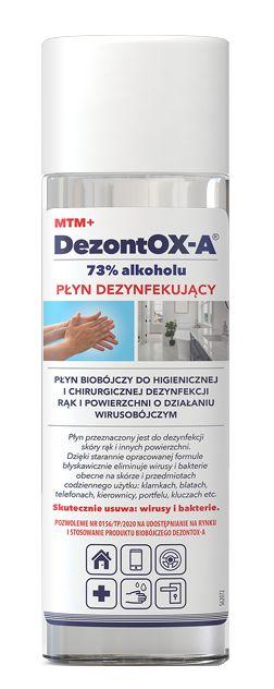 Dezontox-A 73% alkoholu 50ml