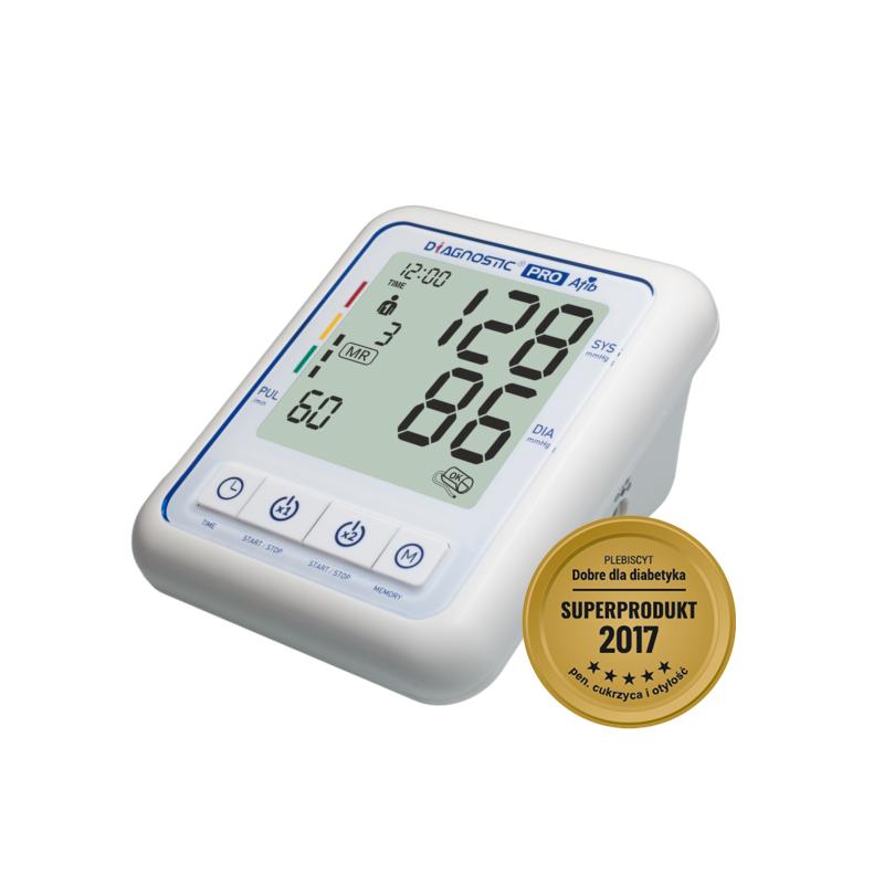 Diagnostic Pro Afib Ciśnieniomierz Automatyczny Naramienny z zasilaczem