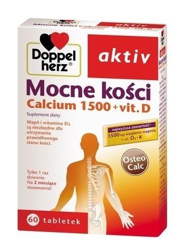 Doppelherz aktiv Mocne kości Calcium 1500 + Vit.D3