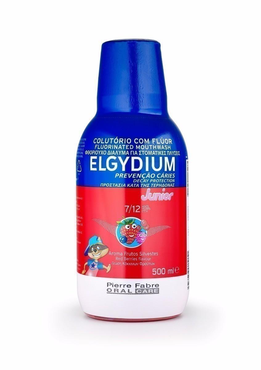 Elgydium Junior ochrona szkliwa - płyn do płukania jamy ustnej