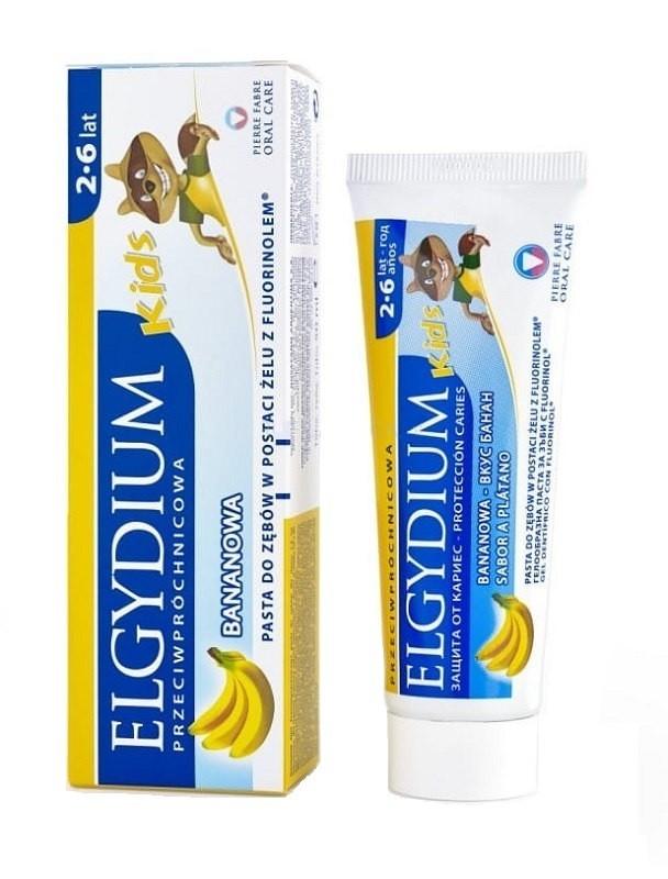Elgydium Kids Bananowa Pasta do zębów 50 ml